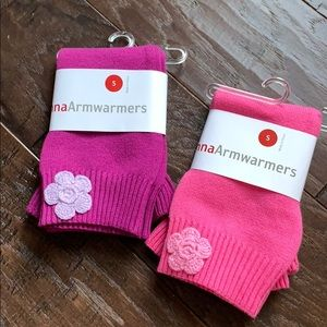 Hanna Andersson arm warmers